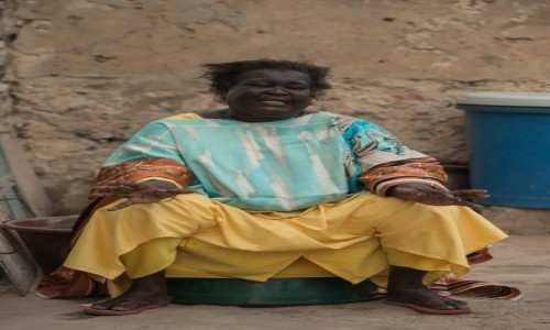 BENIN / Południowy / Cotonou / Mama Afryka