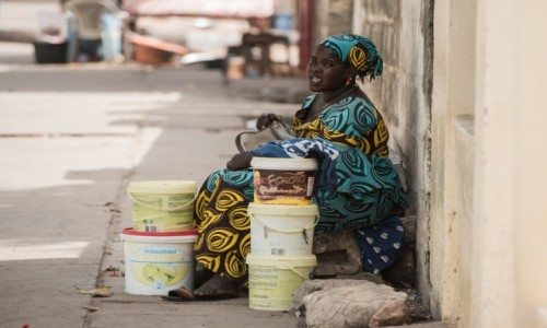 BENIN / Południowy / Cotonou / Zapasy zrobione