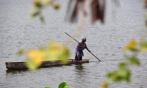 Zdjecie BENIN / Benin południowy / Ouidah / Na łódce