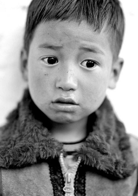 Zdjęcia: Bhutan, Azja, Chłopiec, BHUTAN