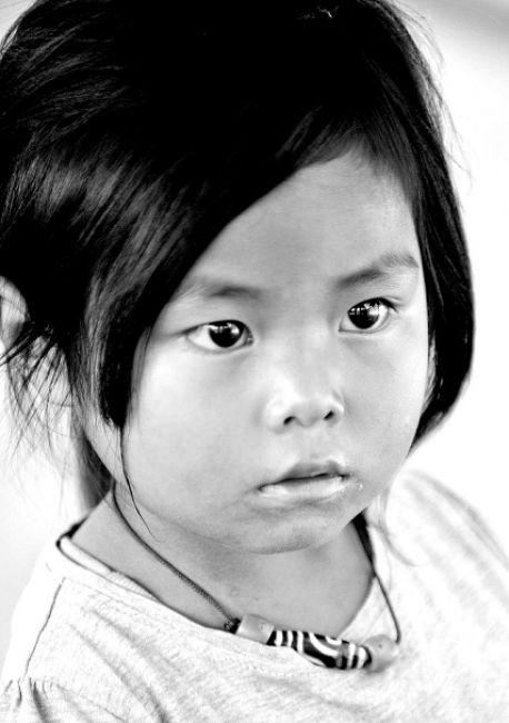 Zdjęcia: Bhutan, Azja, Dziewczynka, BHUTAN