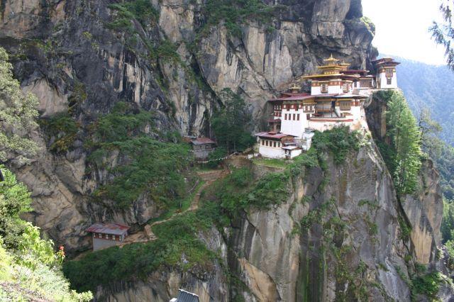Zdjęcia: Bhutan, klasztor, BHUTAN