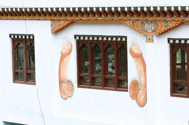 Zdjęcia: Bhutan, dom mieszkalny, BHUTAN