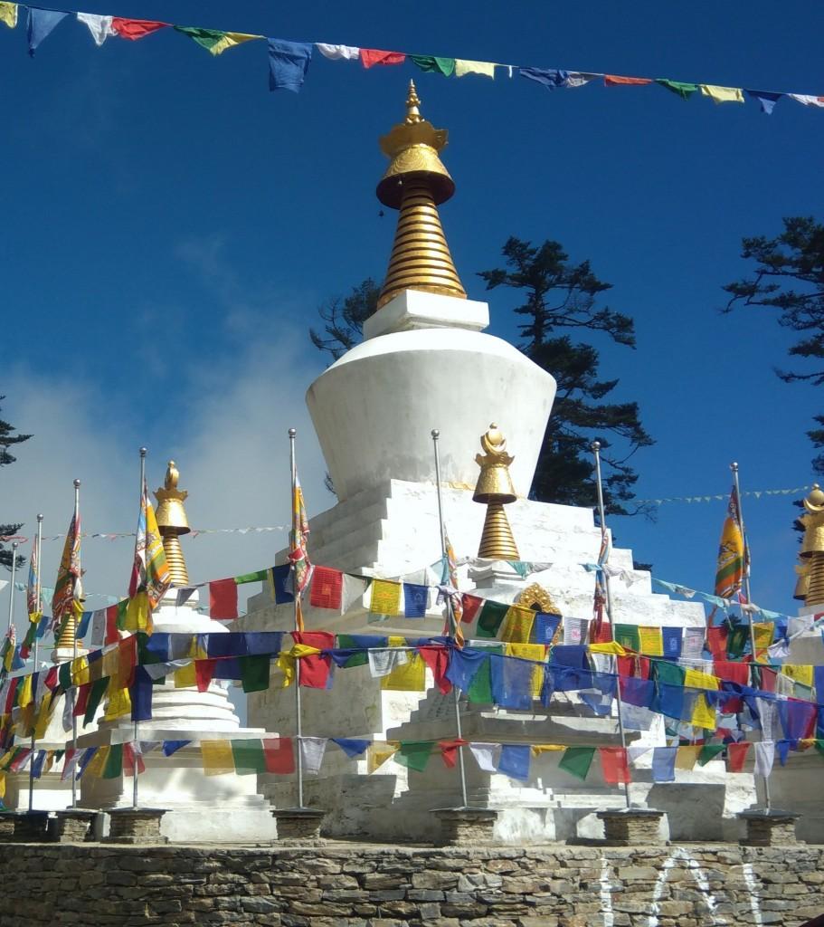 Zdjęcia: Czorten gdzieś po drodze , Punakha, Pozdrowienia z podróży, BHUTAN