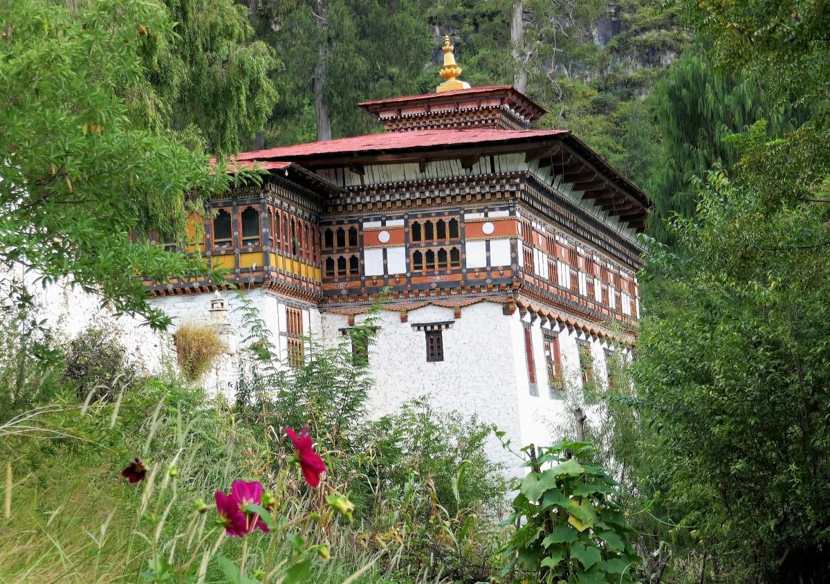 Zdjęcia: Dzong: klasztor- twierdza, Paro, Dzong Paro, BHUTAN
