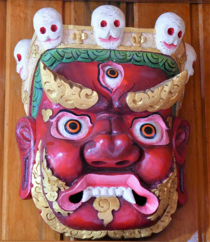 Zdjęcia:  Galeria gdzieś po drodze, Bumthang, Jama - bóg śmierci i zmarłych, władca zaświatów, BHUTAN