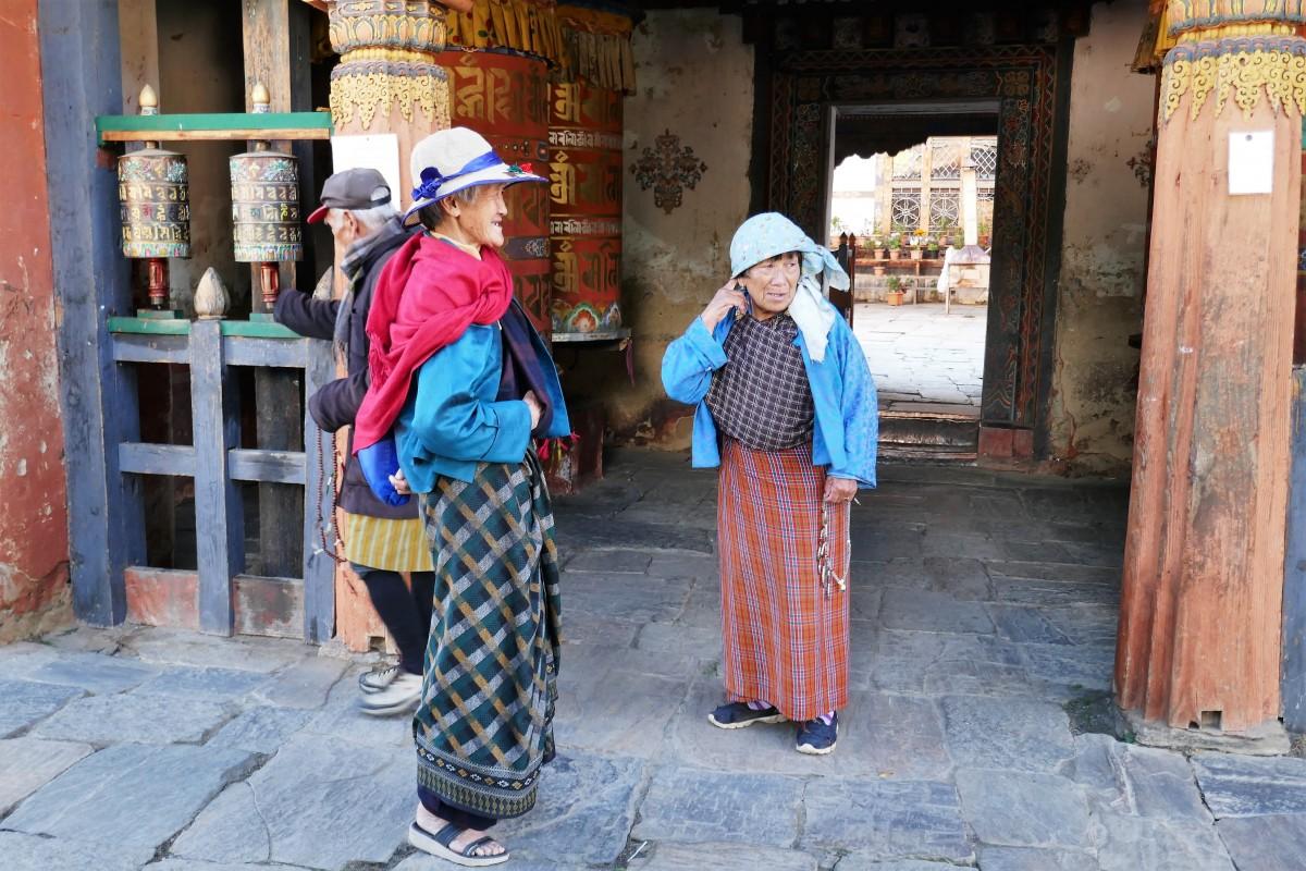 Zdjęcia: Jambey Lhakhang, Bumthang, Bhutańczycy, BHUTAN