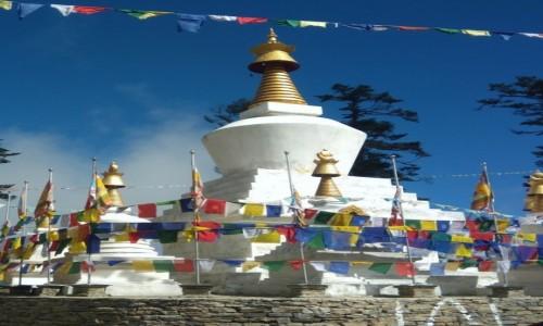 BHUTAN / Punakha / Czorten gdzieś po drodze  / Pozdrowienia z podróży