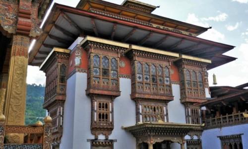 Zdjęcie BHUTAN / Punakha / Dzong: klasztor- twierdza / Punakha Dzong