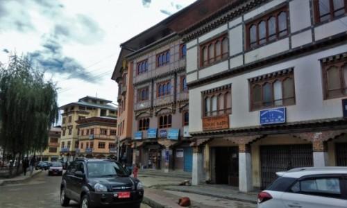 Zdjecie BHUTAN / Paro / Centrum miasta / Ulica w Paro