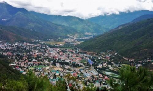 Zdjecie BHUTAN / Thimphu / Stolica kraju / Dolina Thimphu