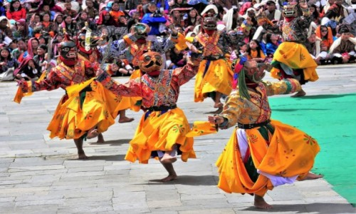 BHUTAN / Thimphu / Festiwal / Thimphu Tsechu