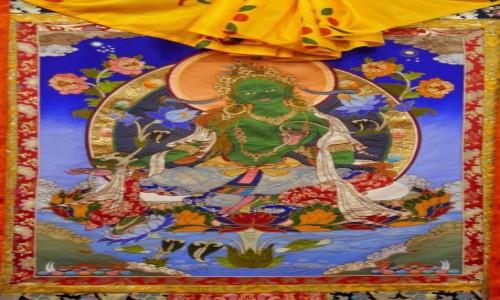 Zdjecie BHUTAN / Dystrykt Paro / Galeria w Paro / Zielona TARA