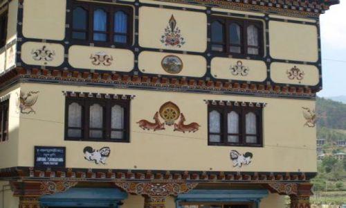 Zdjęcie BHUTAN / Bhutan Zachodni / Bhutan Zachodni / Budynek w Paro