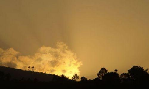 Zdjecie BHUTAN / brak / Punakha / Zachód słońca  w Punakha