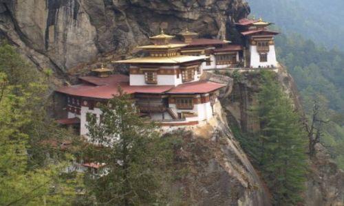 Zdjecie BHUTAN / brak / Bhutan Zachodni / Gniazdo Tygrysa - symbol Bhutanu, można zwiedzac