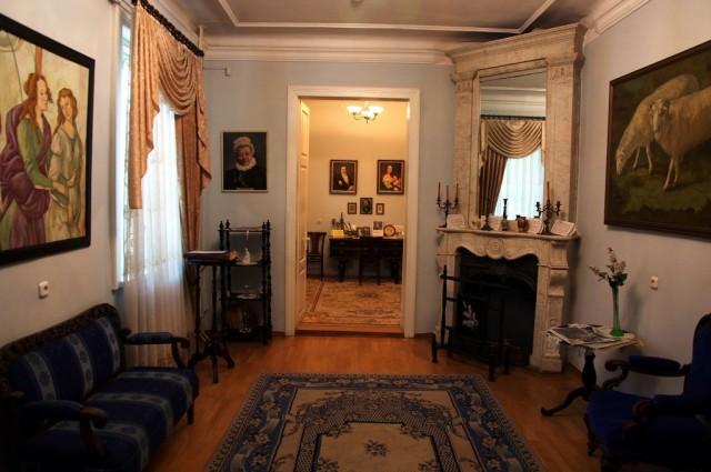 Zdjęcia: Bulwar Orzeszkowej, Grodno, Dom-Muzeum Elizy Orzeszkowej, wnętrze, BIAłORUś