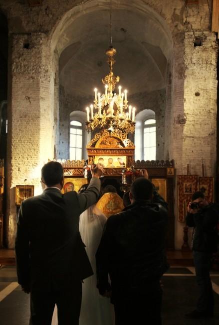 Zdjęcia: Cerkiew pw. św. Borysa i Gleba z XII w., Grodno, Zaślubiny, BIAłORUś