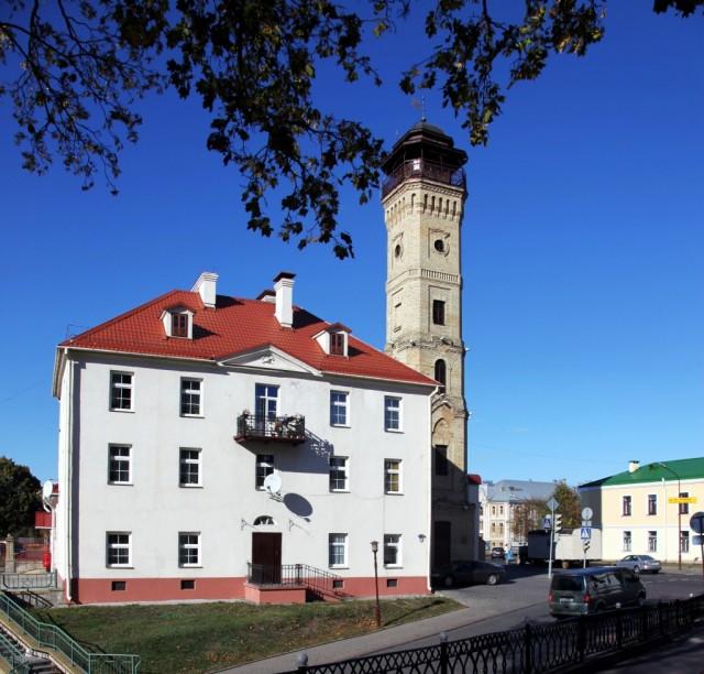 Zdjęcia: ul. Zamkowa, Grodno, Wieża Pożarnicza z 1901 r., BIAłORUś