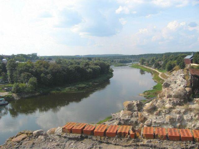 Zdjęcia: Grodno, Białoruś, Niemen w Grodnie, BIAłORUś