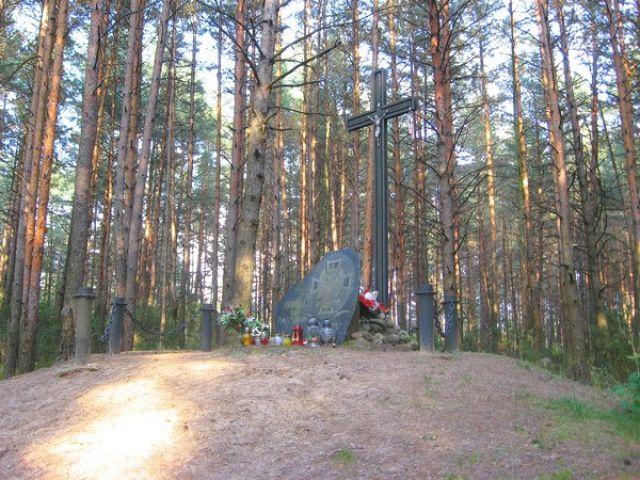 Zdjęcia: Bohatyrowicze, Białoruś, mogiła, BIAłORUś