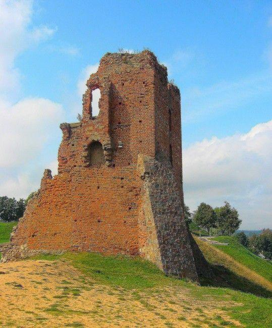 Zdjęcia: Nowogródek, Białoruś, ruina zamku Mendoga , BIAłORUś