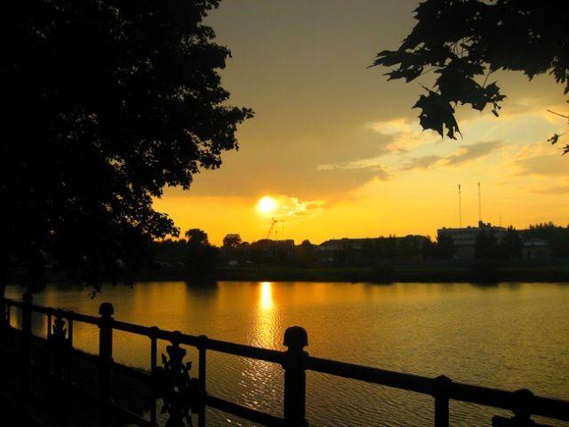 Zdjęcia: Nieświez, Białoruś, jezioro w Nieświerzu, BIAłORUś