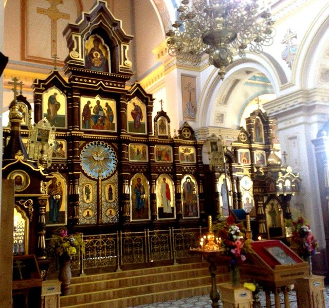 Zdjęcia: Grodno, grodzieński, w cerkwi, BIAłORUś