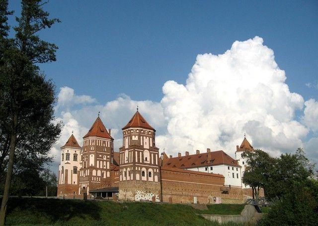 Zdjęcia: Mir, grodzieński, zamek Radziwiłłów, BIAłORUś
