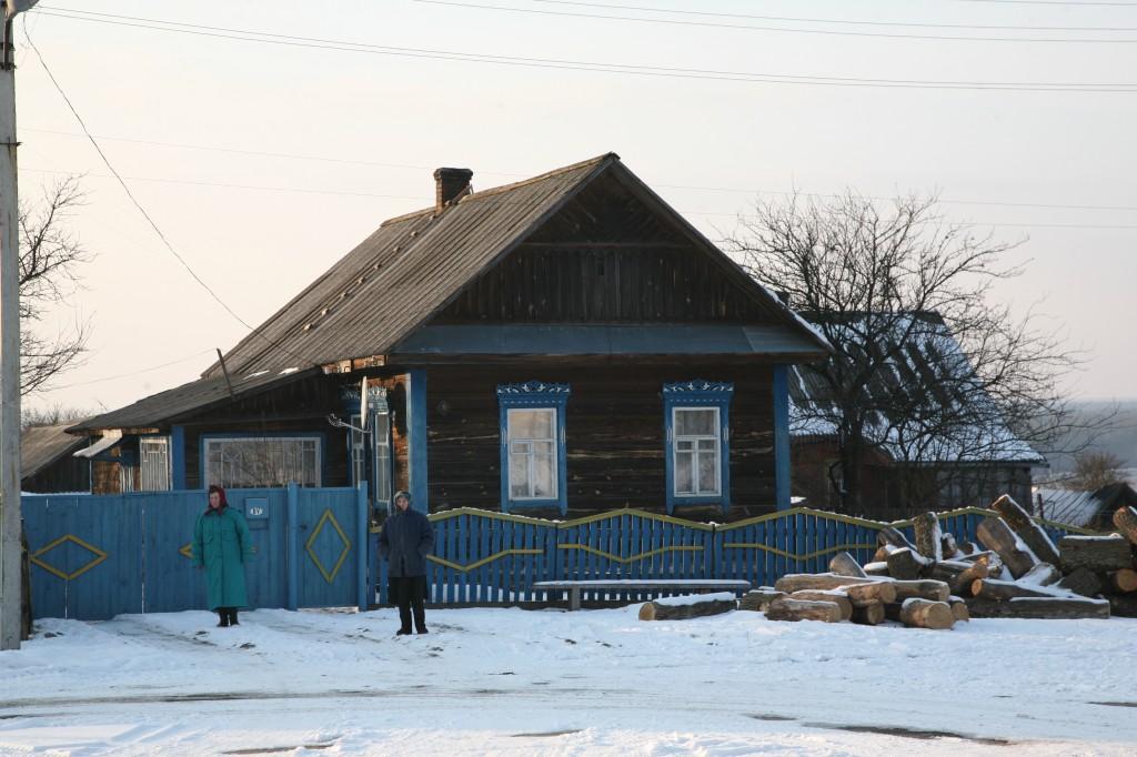 Zdjęcia: Jurewicze, Homelszczyzna, Architektura drewniana, BIAłORUś