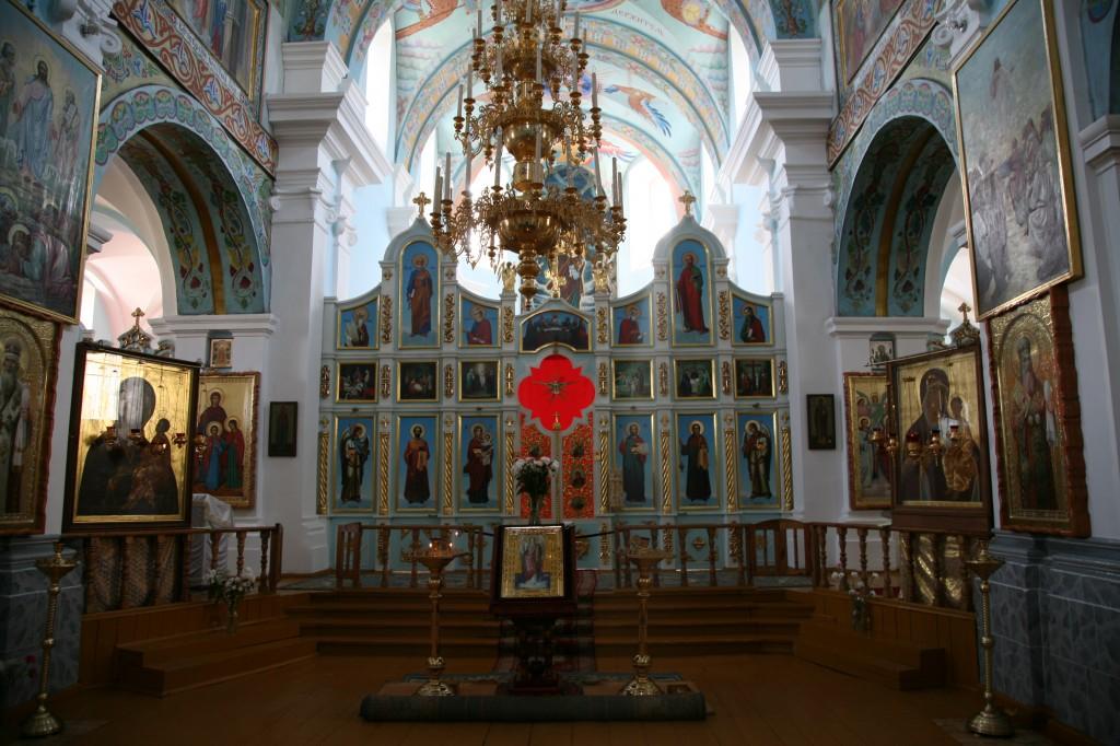 Zdjęcia: Mozyrz (biał. Мазыр, Mazyr) , Polesie, Homelszczyzna, Cerkiew katedralna św. Archanioła Michała, wnętrze, BIAłORUś