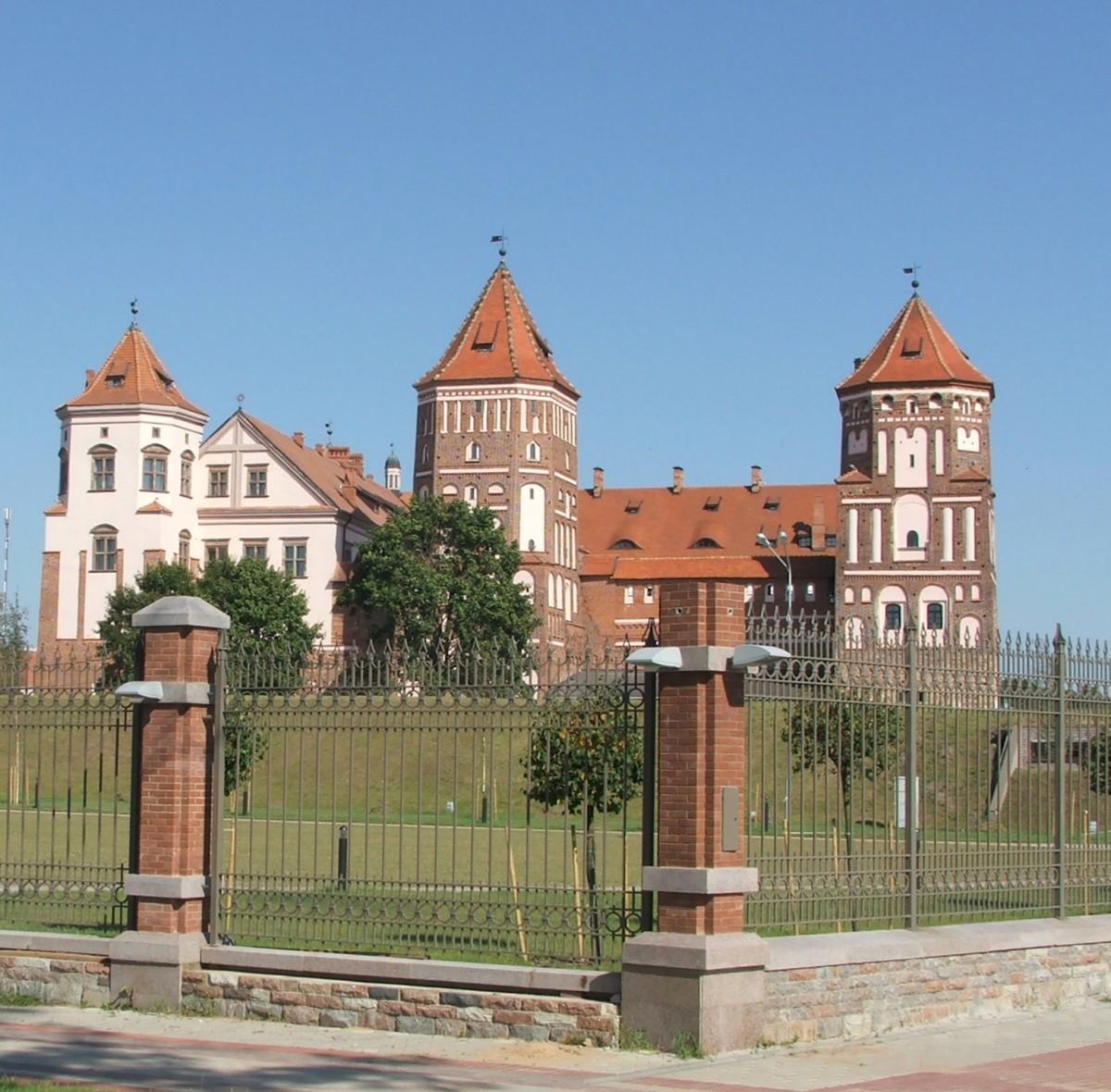 Zdjęcia: Mir, Obwód grodzieński rejon korelicki, Zamek XV-XVI w., BIAłORUś