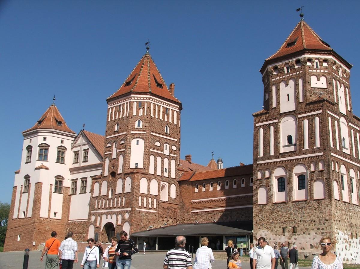 Zdjęcia: Mir, Obwód grodzieński rejon korelicki, Zamek w Mirze, BIAłORUś