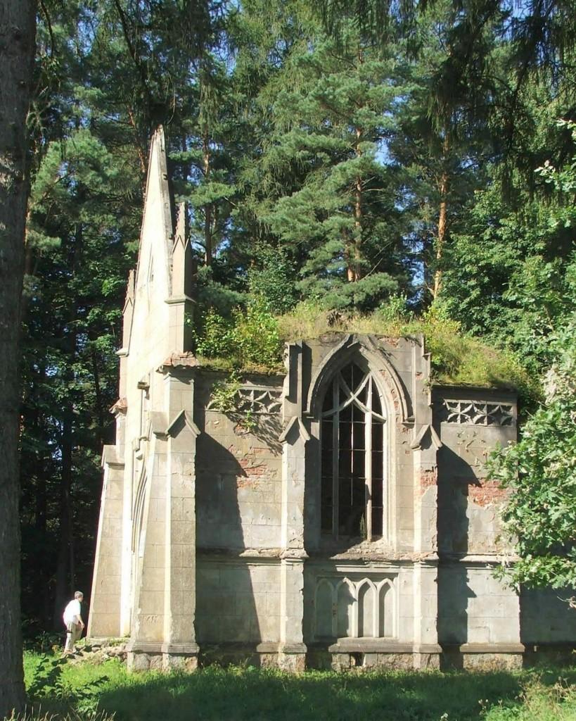 Zdjęcia: Hruszówka, Obwód brzeski, rejon lachowicki, Kaplica grobowa Reytanów, BIAłORUś
