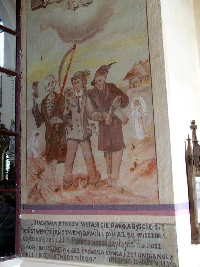 Zdjęcia: Stare Wasiliszki , Obwód grodzieński, rejon szczuczyński, W kościele w Starych Wasiliszkach, BIAłORUś