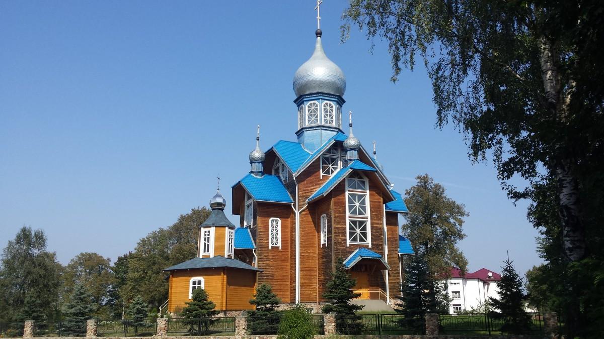 Zdjęcia: Kamieniuki, Puszcza Białowieska, Cerkiew, BIAłORUś