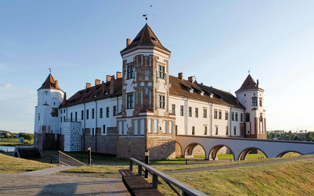 Zdjęcia: Mir, Obwód grodzieński, Zamek w Mirze, BIAłORUś