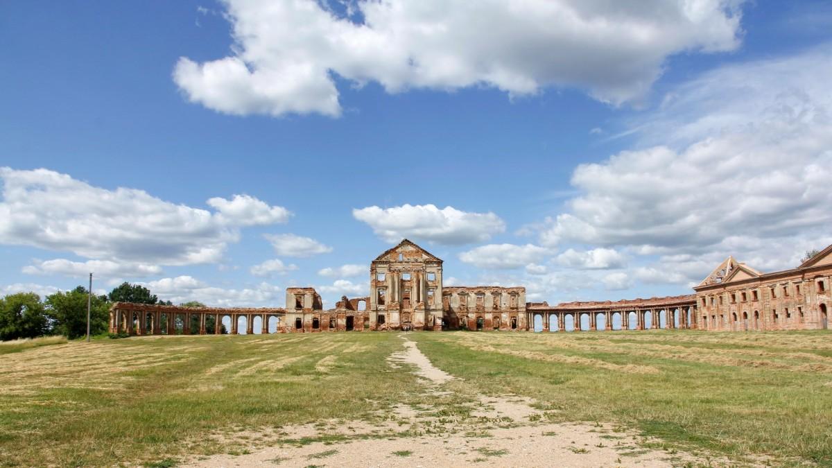 Zdjęcia: Różana, Obwód brzeski, Pałac Sapiehów w Różanie, BIAłORUś