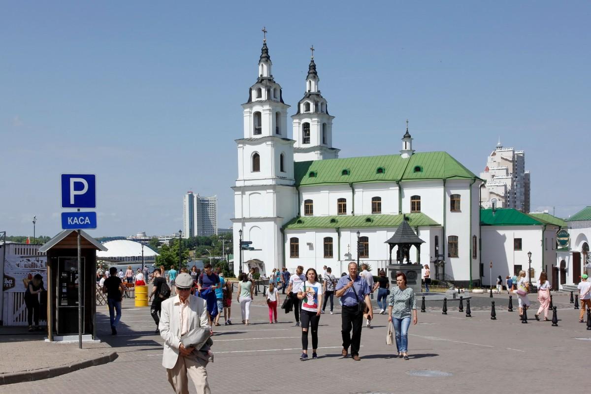 Zdjęcia: Mińsk, Katedralna cerkiew prawosławna pw. św. Ducha, BIAłORUś