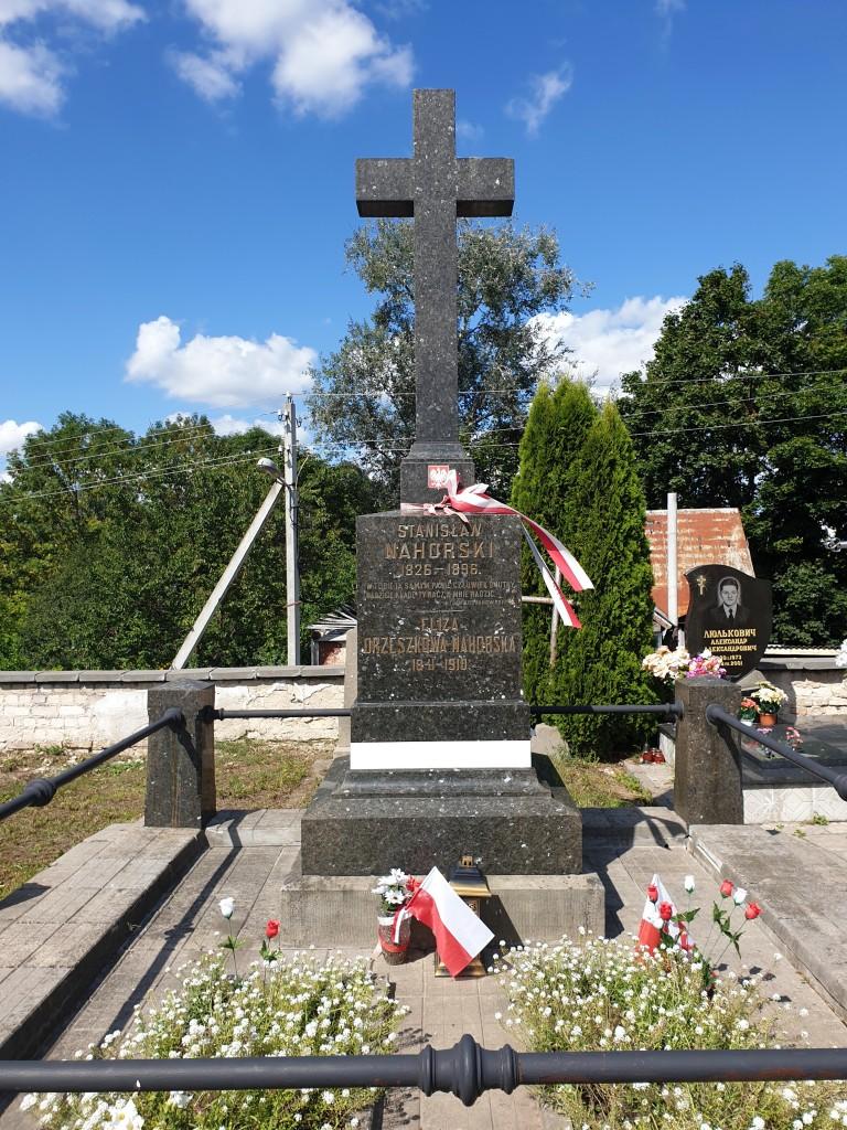 Zdjęcia: Cmmentarz farny, Grodno, Nagrobek E. Orzeszkowej, BIAłORUś