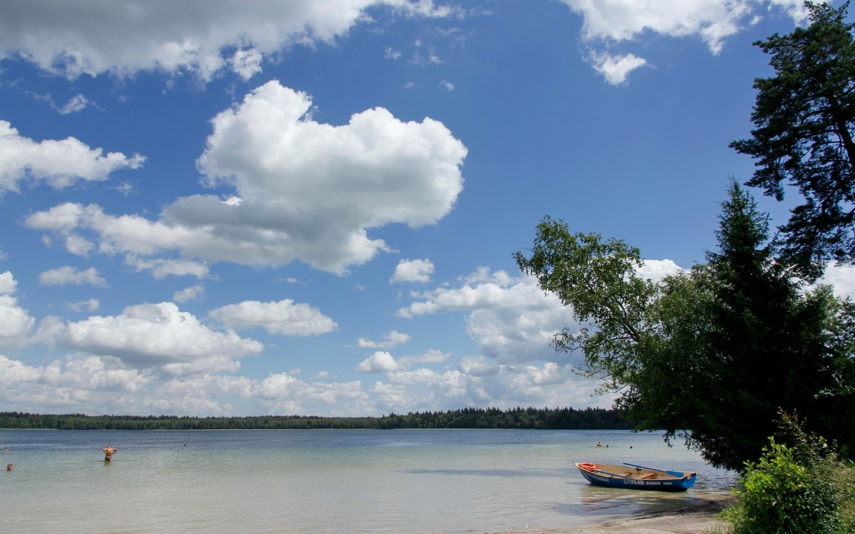 Zdjęcia: Jezioro Świteź, Obwód grodzieński, Jezioro Świteź, BIAłORUś