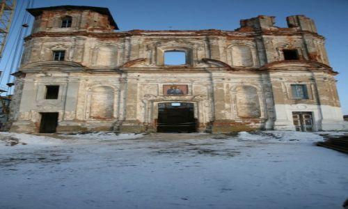 Zdjecie BIAłORUś / Homelszczyzna / Jurewicze / Kościół pojezuicki w Jurewiczach w ruinie