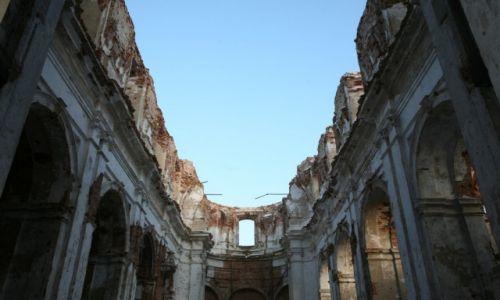 BIAłORUś / Homelszczyzna / Jurewicze / Ruiny kościoła w Jurewiczach