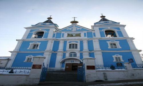 BIAłORUś / Polesie, Homelszczyzna / Mozyrz (biał. Мазыр, Mazyr)  / Cerkiew katedralna św. Archanioła Michała