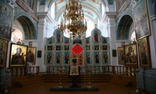 BIAłORUś / Polesie, Homelszczyzna / Mozyrz (biał. Мазыр, Mazyr)  / Cerkiew katedralna św. Archanioła Michała, wnętrze