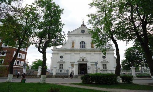 Zdjęcie BIAłORUś / Obwód miński / Nieśwież / Kościół Bożego Ciała - fasada