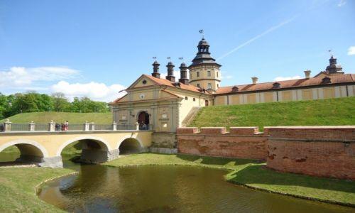 BIAłORUś / Obwód miński / Nieśwież / Zamek w Nieświeżu (2)