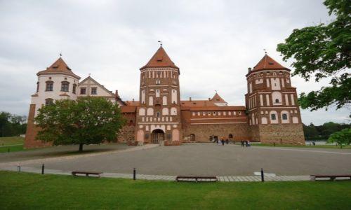 Zdjęcie BIAłORUś / Obwód miński / Mir / Zamek w Mirze (2)