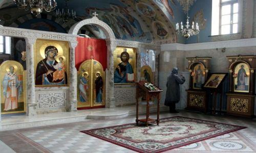 Zdjęcie BIAłORUś / Mińsk / Plac Wolności / Cerkiew św. Kiryła Turowskiego, wnętrze