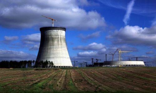 BIAłORUś / Grodno / Ostrowiec / Elektrownia atomowa w budowie